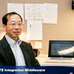 Photo of John Wang from the OIT website homepage