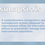 Screen shot from Sunapsis website