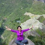 Photo of Jocelyn Ramirez visiting Machu Picchu