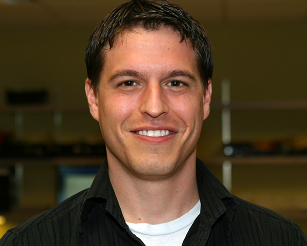 Photo of new employee Michael Buchmann