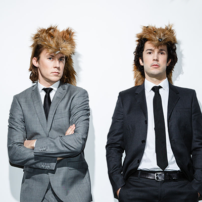 Photo of Norwegian comedy duo Ylvis