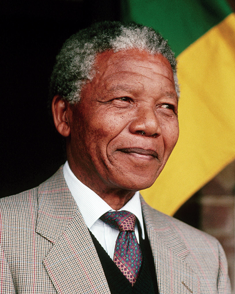 Photo pf Nelson Mandela