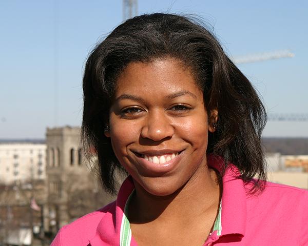 Photo of new employee Terri Harrison