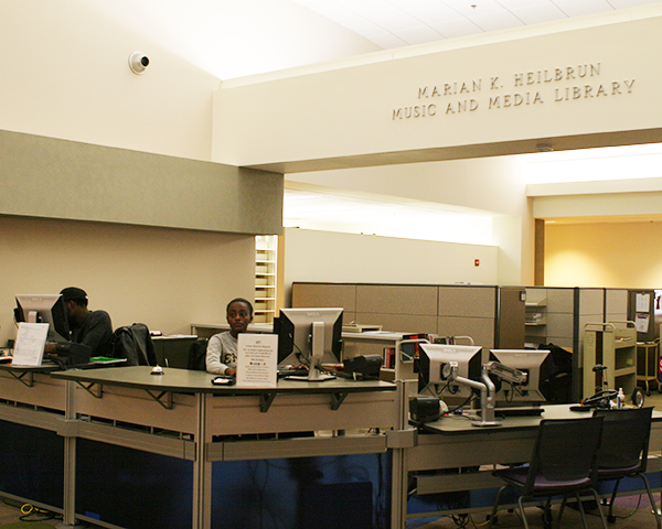 Photo of Music & Media Library