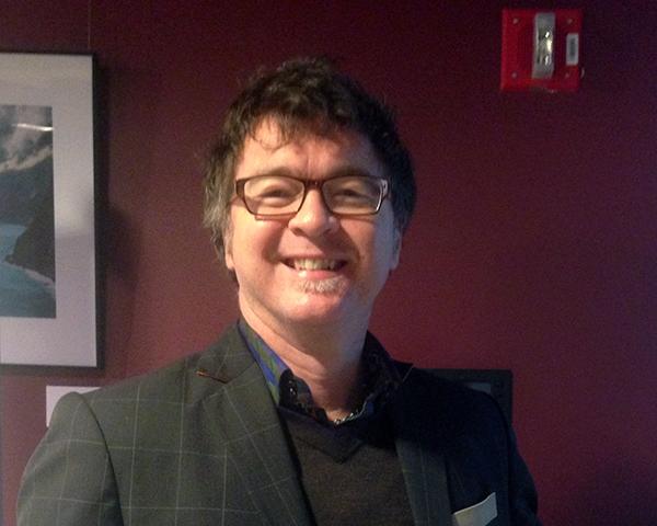 Photo of seminar instructor