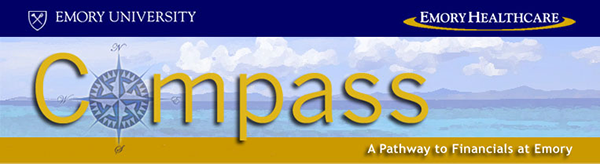 Compass header banner from web page