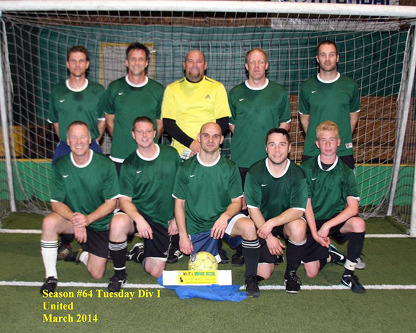 Photo of a local indoor soccer team