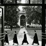 Photo of Emory University Commencement, circa 1950s