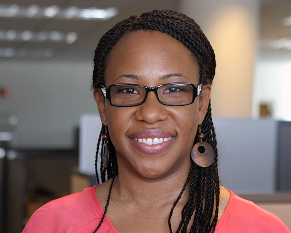 Photo of new employee Jeselyn Rhodes