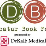 Logo for the 2014 Decatur Book Festival
