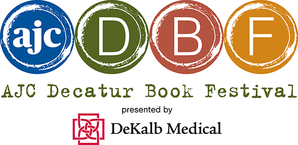 Logo for the 2014 AJC Decatur Book Festival