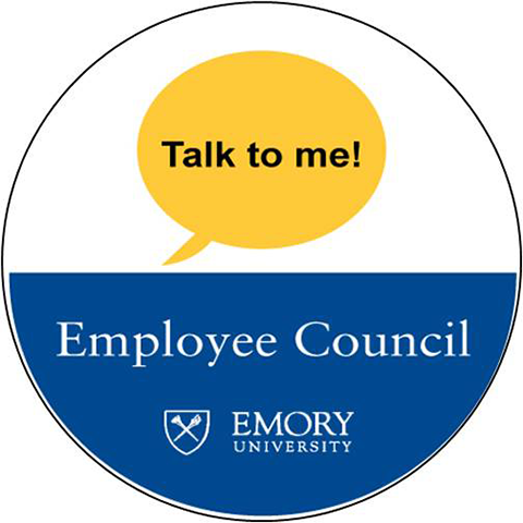 Graphic of an Employee Council badge