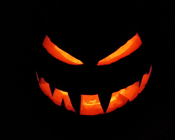 Photo of Halloween pumpkin