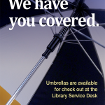 Photo of an umbrella