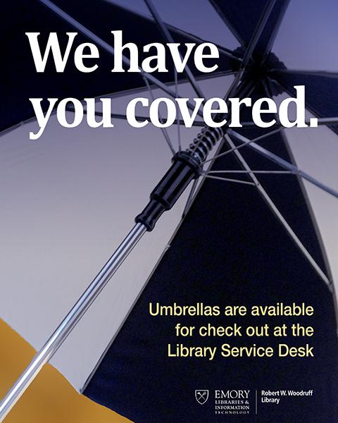 Photo of an umbrella