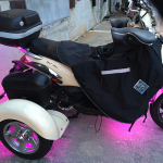 Photo of an employee's scooter