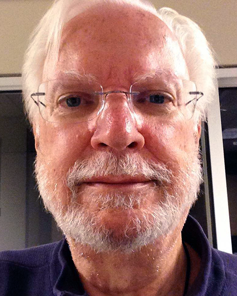 "A ""selfie"" of Charles Minihan"