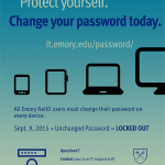Image of a password poster
