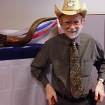 Photo of an employee wearing a cowboy hat