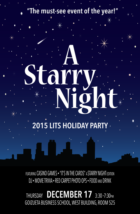LITS Party Poster