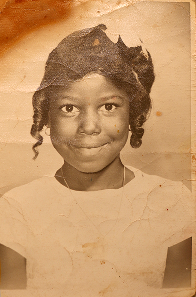 Photo of an employee as a child