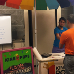 Photo of person service popsicles
