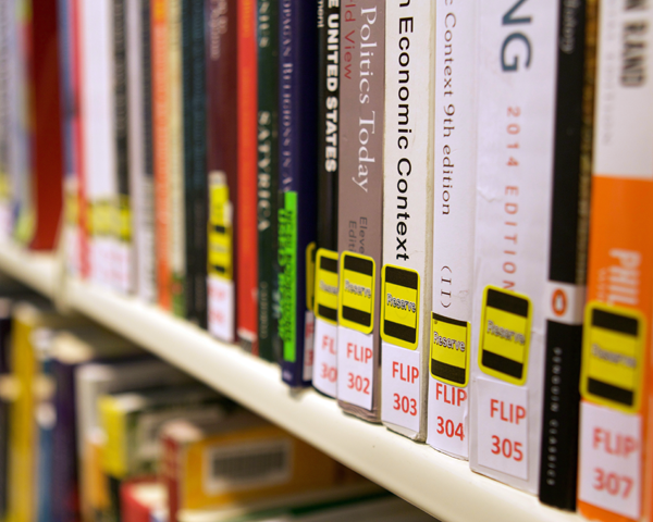shelved course reserves