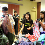 Photo of a clothing swap