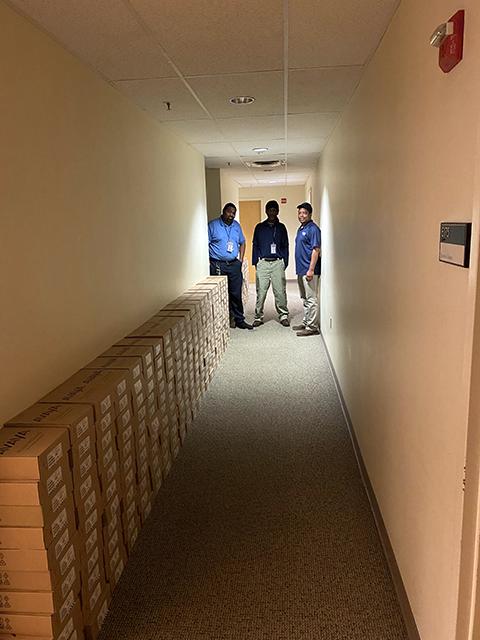 photo of employees