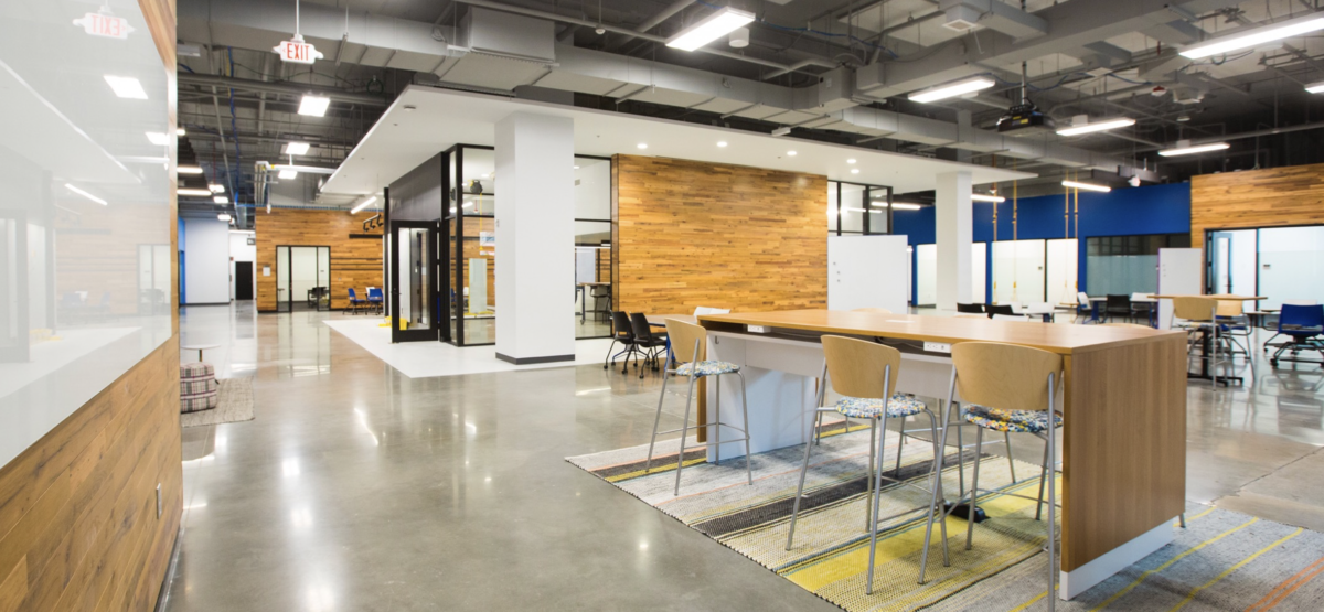 photo of The Hatchery student innovation space