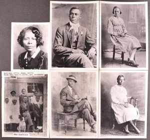 Turner-Gamble family portraits
