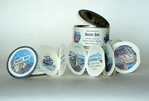 An Excerpt from John Steinbeck's Cannery Row by Peter and Donna Thomas, Photo of Opened Can by Peter Thomas.
