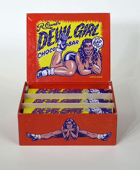 R. Crumb's Devil Girl Chocolates