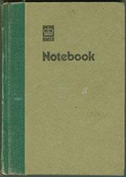Ciaran Carson Notebook