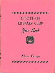 Utopian Literary Club Yearbook