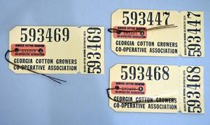 Odum Cotton Bale Tags