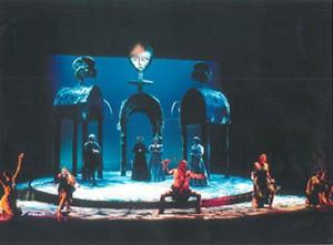 "Scene from ""Fortune of the Moor"" Ohio Sate University, 1998."