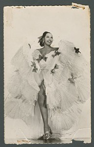 "Postcard of Josephine Baker titled ""Annabaoca."""