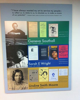 Revealing Her Story: Documenting African American Women Intellectuals 2014 Exhibition. Seventh Floor, Robert W. Woodruff Library, Emory University.