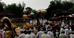 Balinese dance ceremony. <br />Courtesy of Ryan Sutherland.