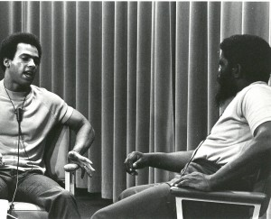 Huey Newton speaks with Herman Blake