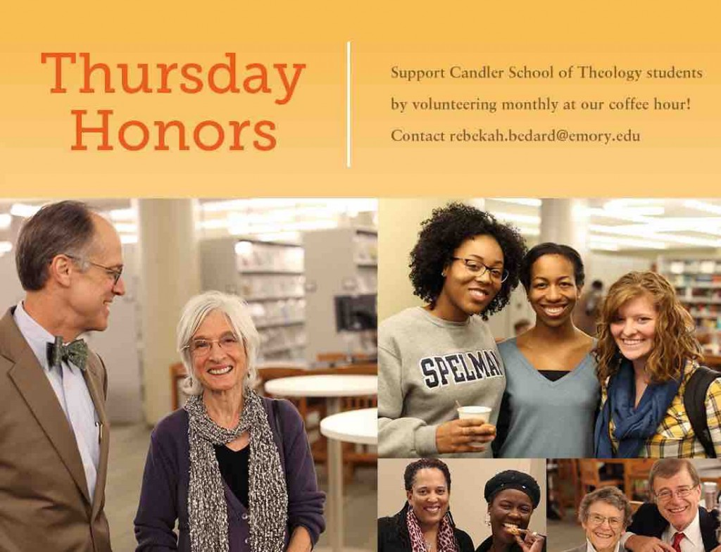 Thursday Honors Volunteers