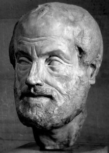 Bust of Aristotle/ CC Licensed