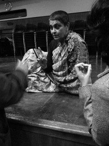 Gayatri Chakravorty Spivak at Goldsmiths College, University of London, 2007/CC Licensed