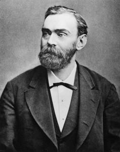 Alfred Nobel, 1923/public domain