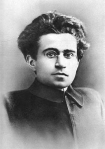 Portrait of Antonio Gramsci around 30 in the early 20s/ public domain