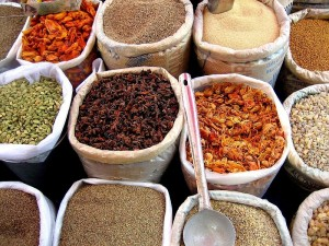 Spices in Mapusa Market, Goa, India/CC Licensed