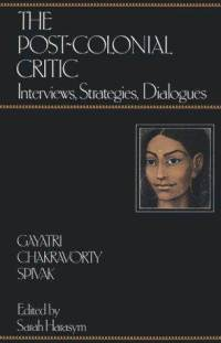 essay can the subaltern Gayatri chakravorty spivak spivak is best known for her essay can the subaltern speak and for her translation of and introduction to jacques derrida's de la.