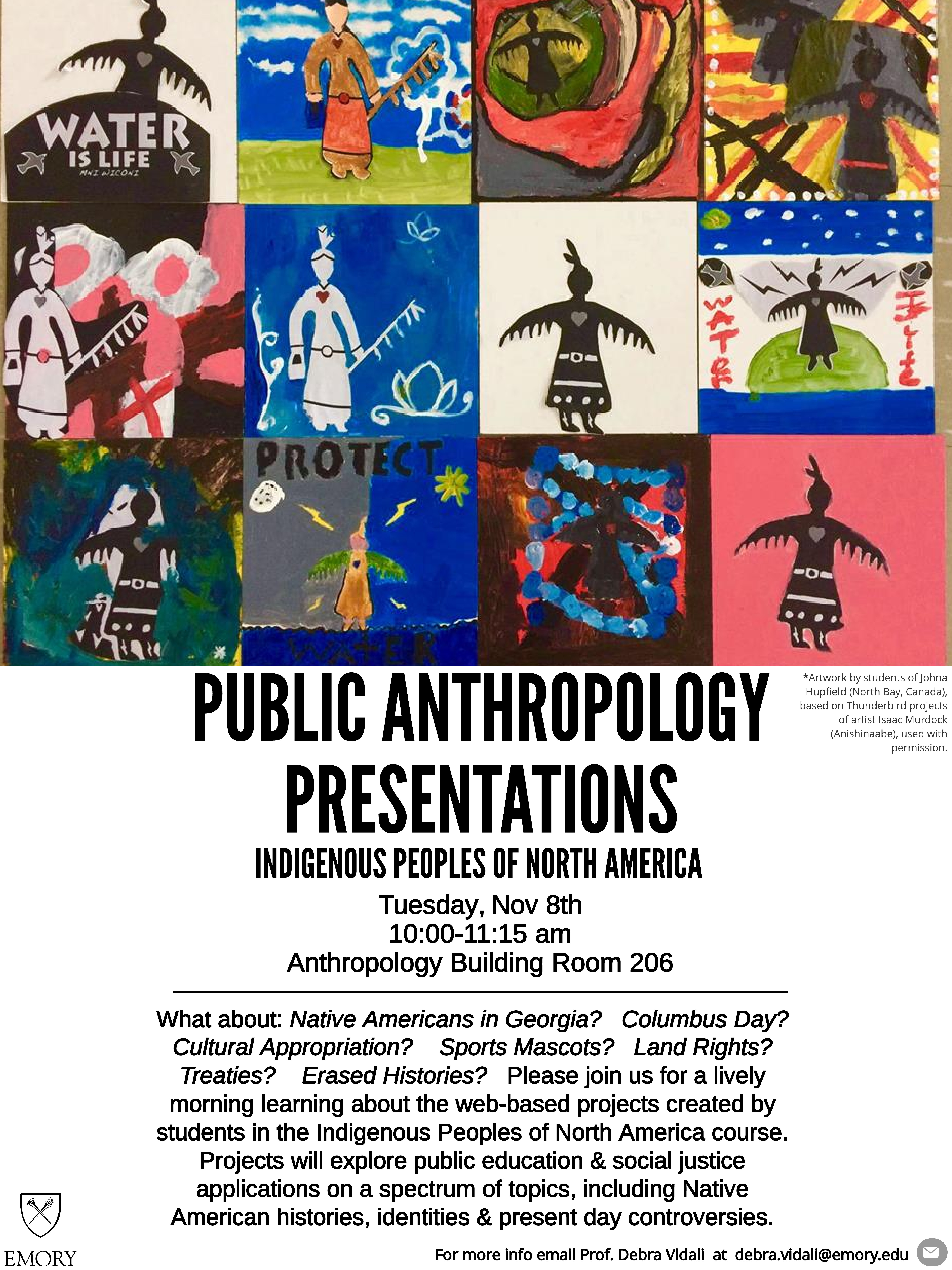 FALL 2016 Public Anthropology Event: Indigenous Peoples of