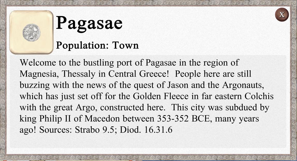 Port Info Pop-up
